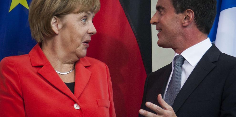 Reunión entre Valls y Merkel deja una importante petición