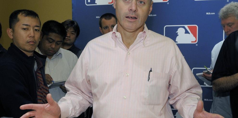 Rob Manfred, electo nuevo comisionado de Grandes Ligas