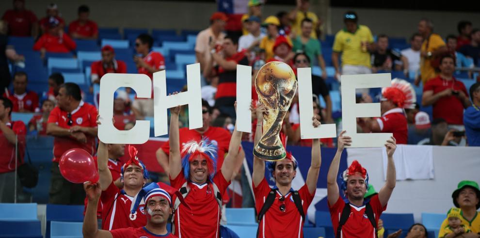 Chile derrota 3-1 a Australia