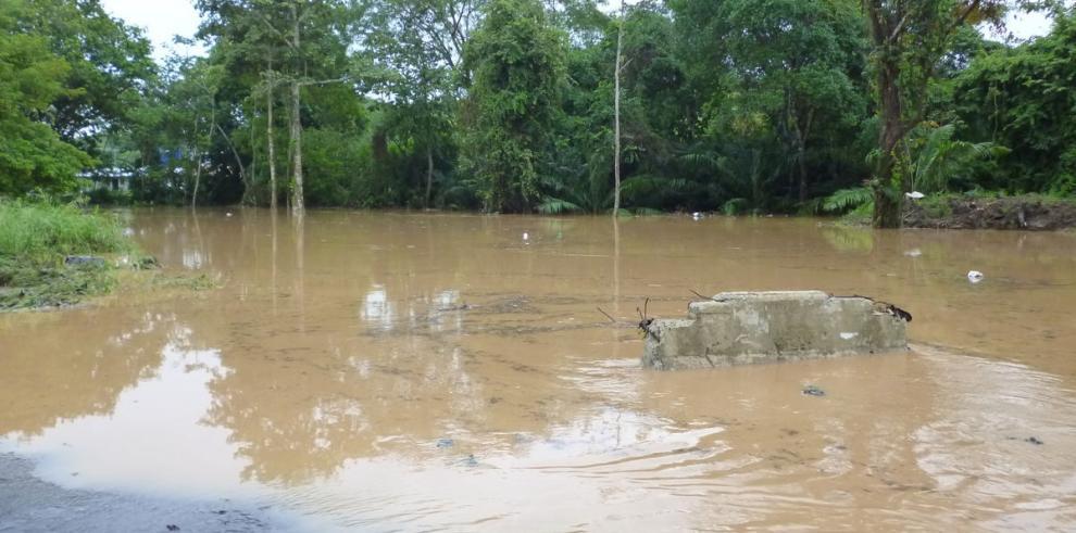 Arraiján, peligro bajo el agua