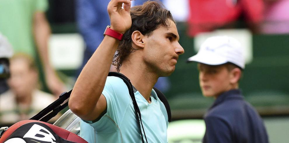 Rafael Nadal, derrotado en las primeras de cambio en Halle