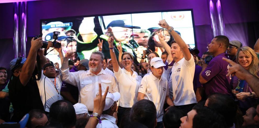 Lorena Castillo de Varela, la fuerza tras el ganador
