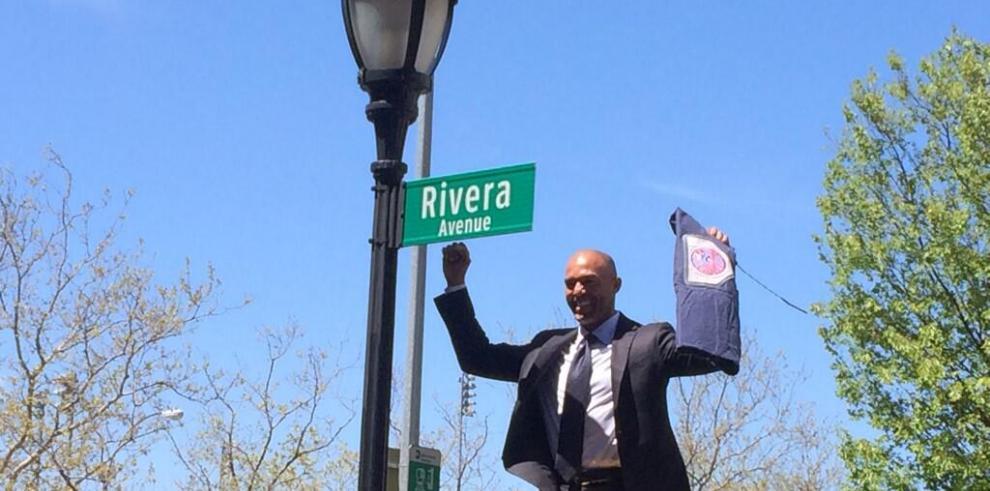 Mariano Rivera tiene su propia calle en Nueva York