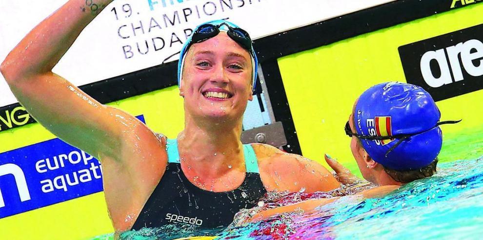 Belmonte, gana el oro en los 200 metros mariposa