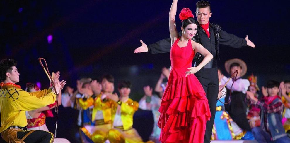 La llama olímpica se apaga en Nankín