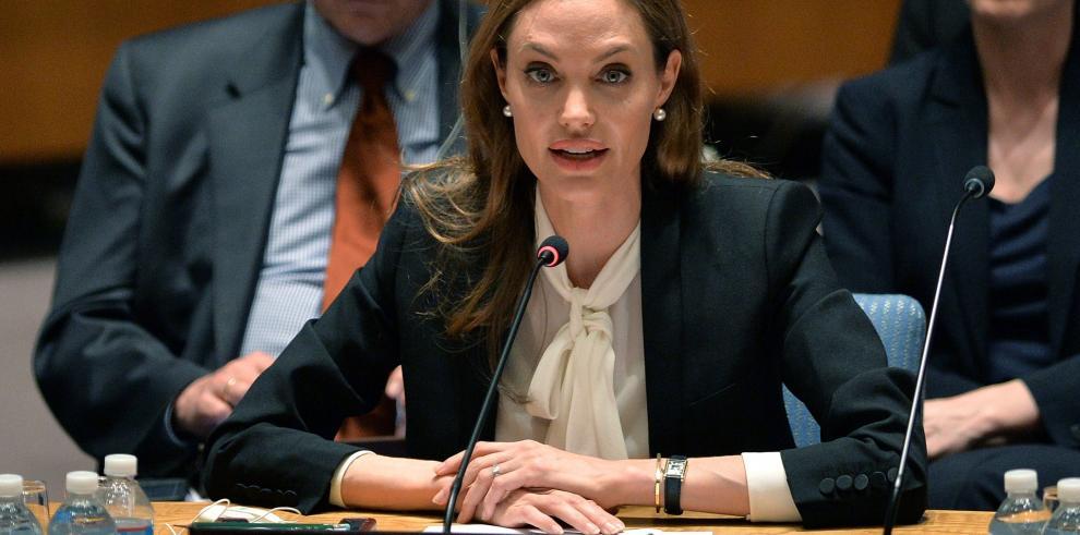 Angelina Jolie, conmocionada por la situación agravada en Siria