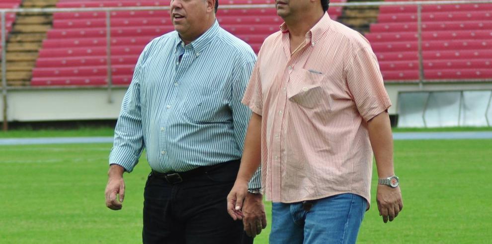 Imágenes del primer entrenamiento de Bolillo con la selección de Panamá