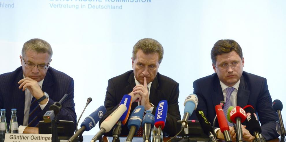 Moscú permitirá paso de gas ruso a Ucrania
