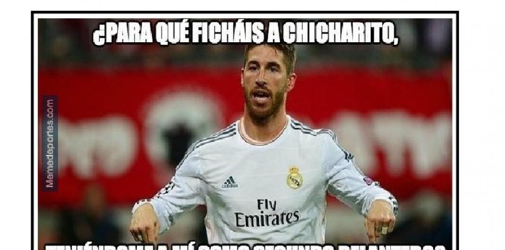 Memes de 'Chicharito' Hernández en Real Madrid