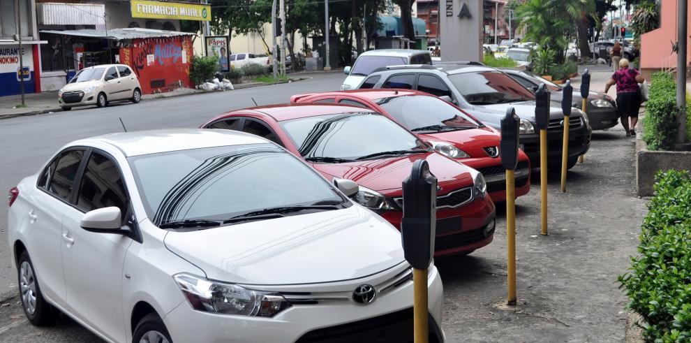 Falta de estacionamientos en el distrito de Panamá