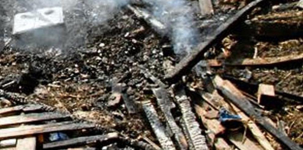 Mueren 4 niños calcinados en Colombia al incendiarse su casa
