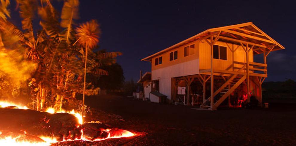 Lava podría forzar a residentes de Hawaii a huir de sus casas
