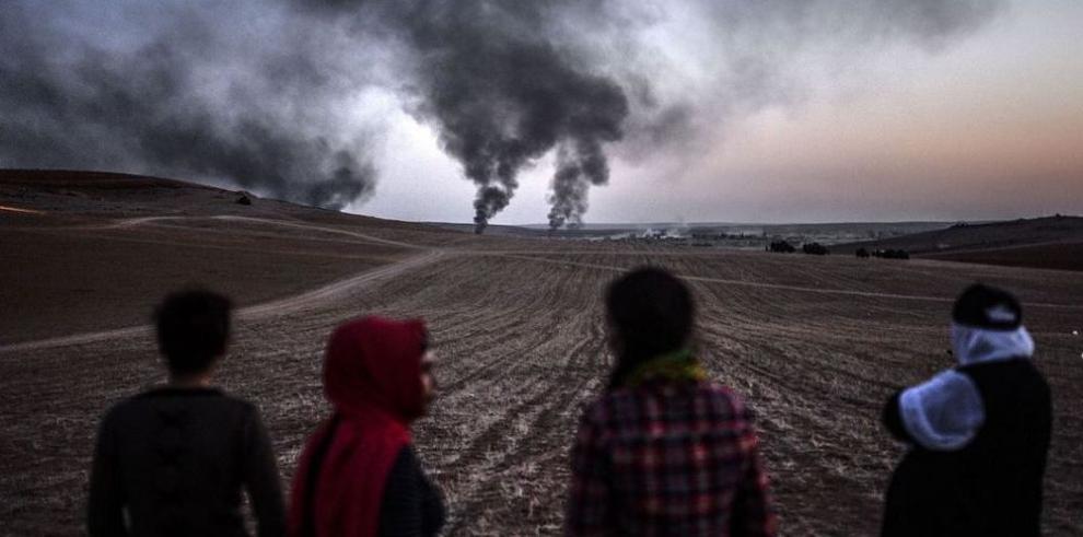 EI secuestra a cinco periodistas en Mosul