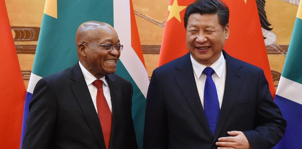 Presidente de Sudáfrica considera un éxito su visita a China