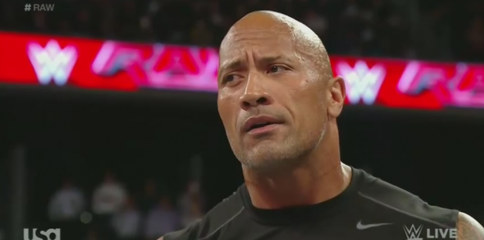 'The Rock' reaparece en la WWE