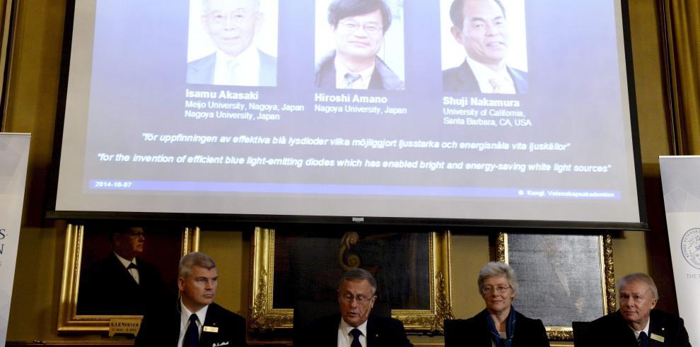 Nobel de Física por revolucionar tecnología de la iluminación con los ledes