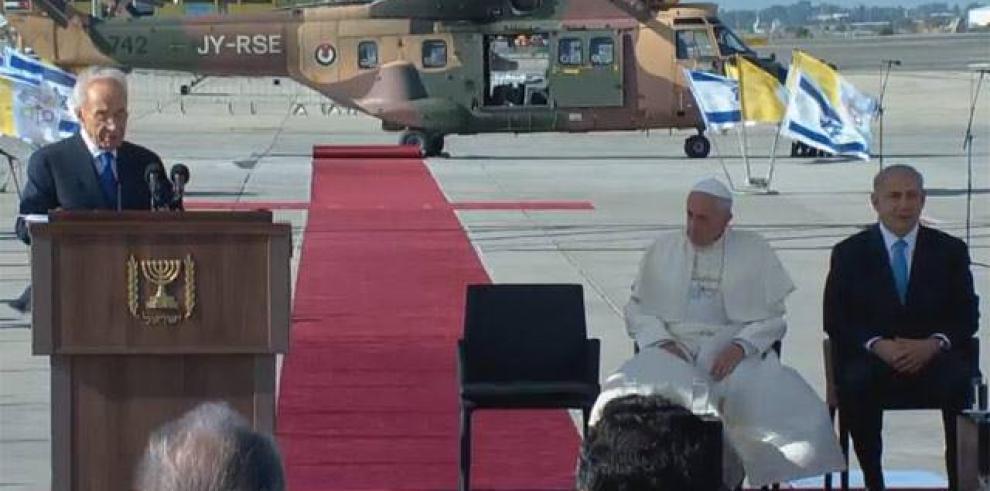 En Tierra Santa, el Papa habló de los niños, la paz y la intolerancia