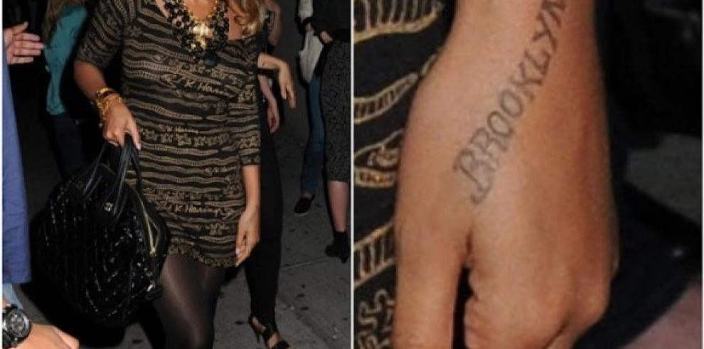 Famosos se unen a la moda de los tatuajes