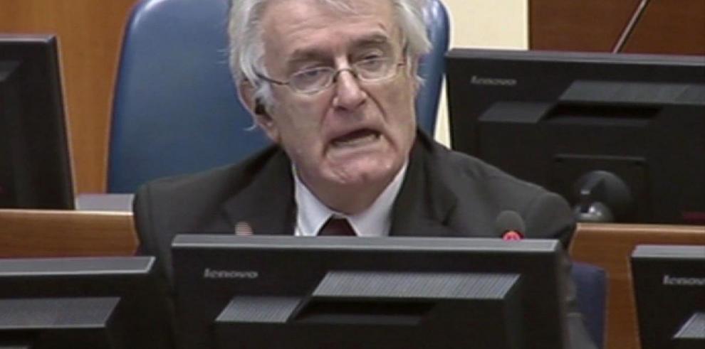 Karadzic: 'Todos los serbios son juzgados'