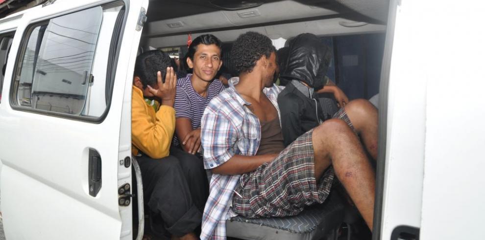Detienen a unos 50 inmigrantes indocumentados en Darién