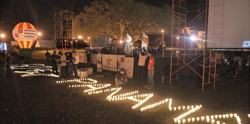 Panamá celebra 'La Hora del Planeta' con pocas actividades
