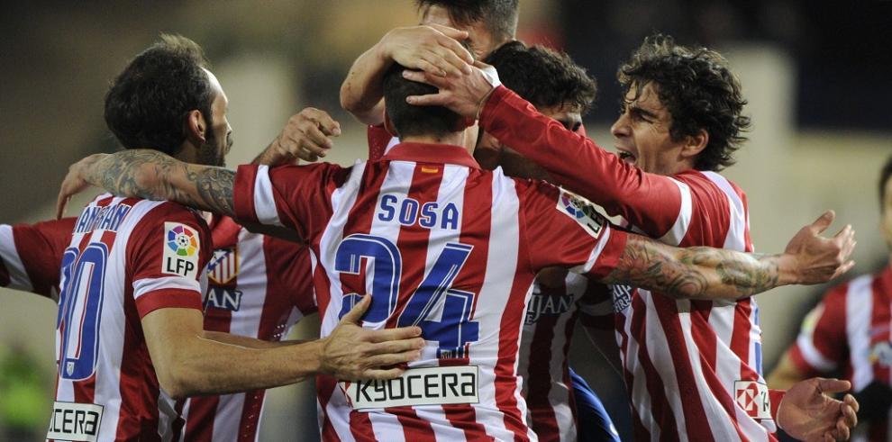 Atlético de Madrid mantiene el liderato en Liga española
