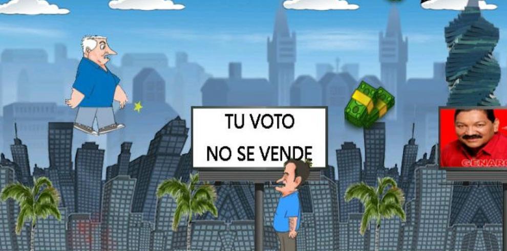 Crean nueva 'app' panameña donde caricaturizan a políticos panameños