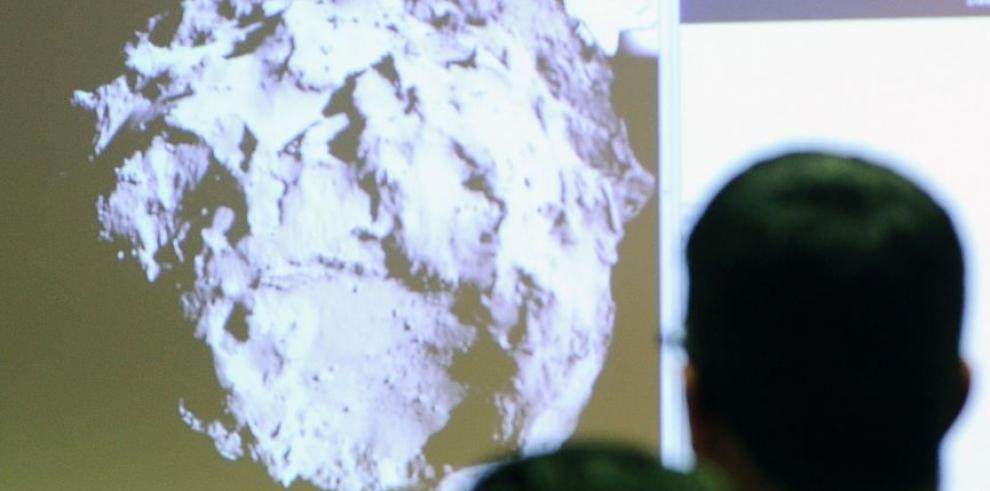 Philae aterrizó en el cometa 67P