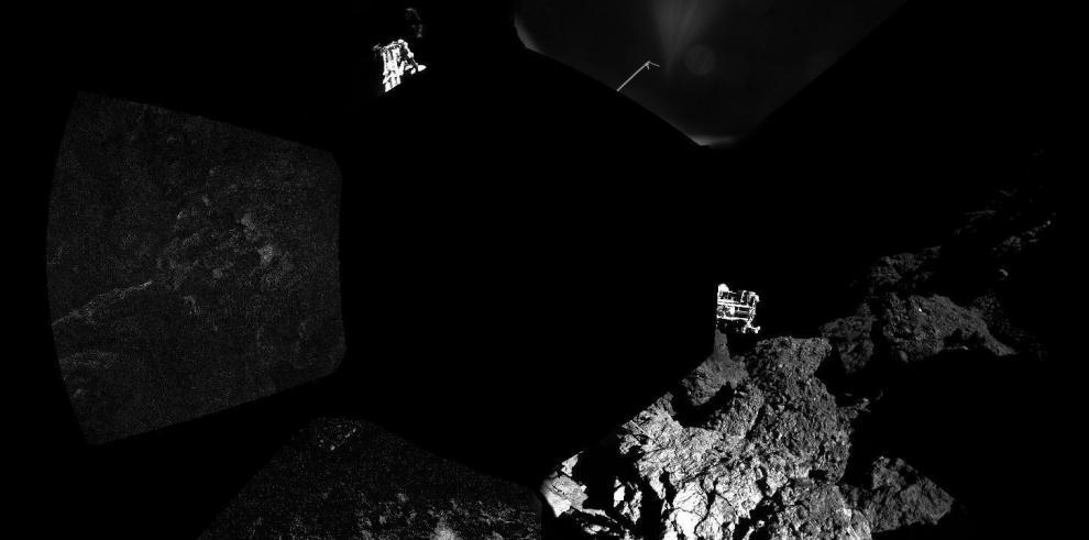Philae mantiene sin problemas comunicación con su nave madreRosetta