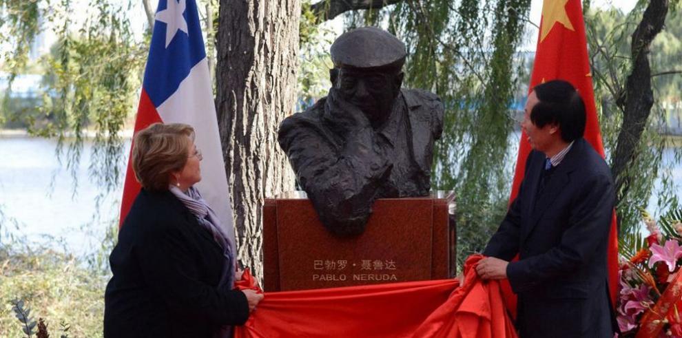 Pablo Neruda vuelve a China