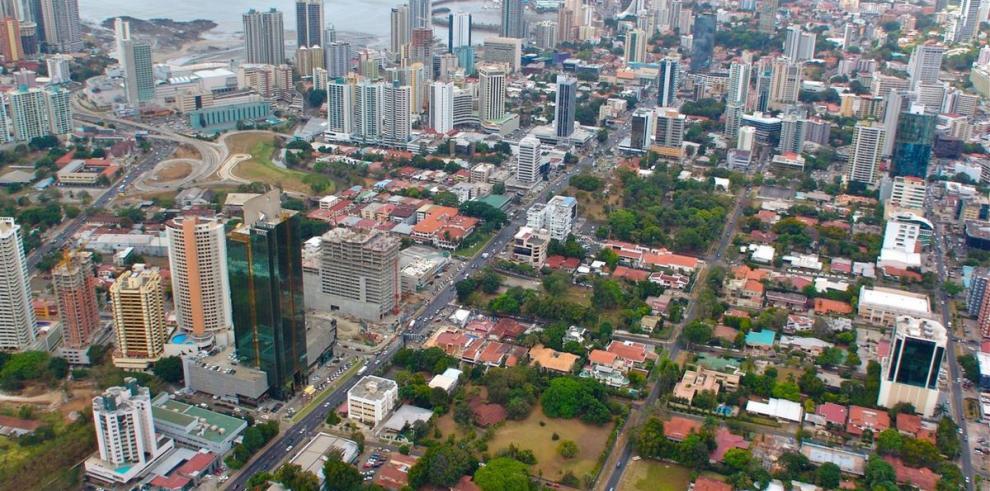 Panamá en el 2004, desde el aire