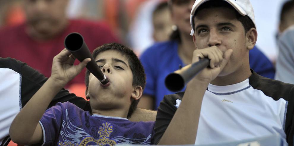 La vuvuzela, prohibida para este Mundial