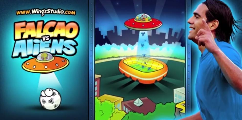 Falcao vs Aliens, ¿salvará el fútbol?