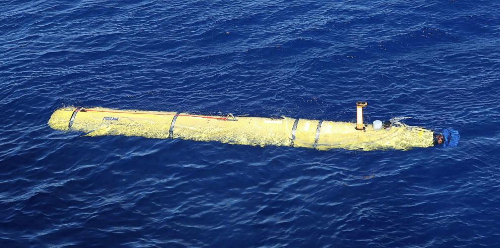 Robot submarino no encontró rastros de avión malasio desaparecido