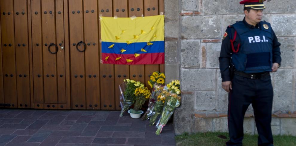 El adiós al maestro, Gabriel García Márquez