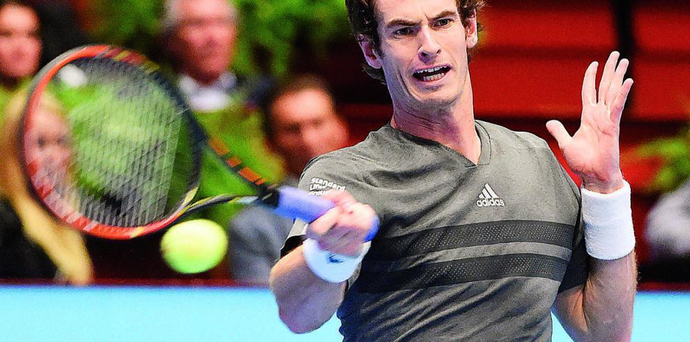 Escocés Murray cerca de alcanzar el torneo de Viena
