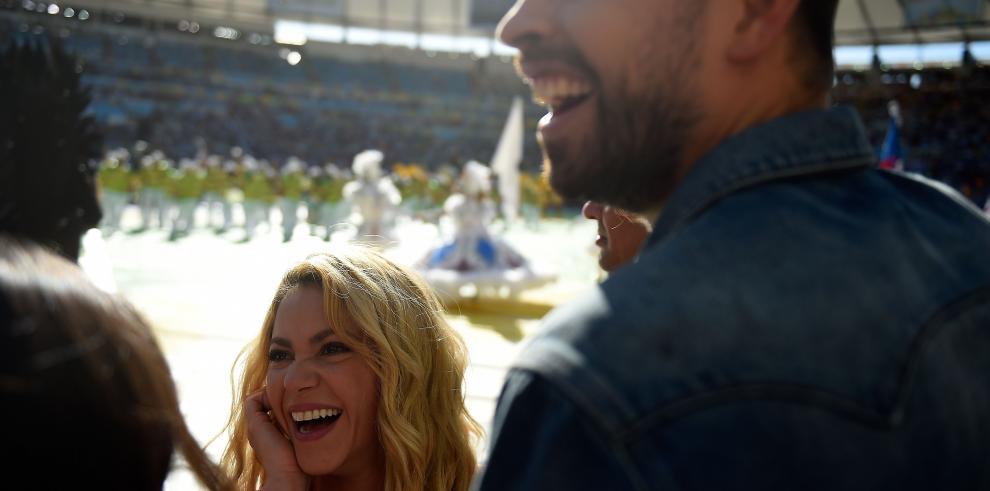 Shakira admite tristeza de Piqué