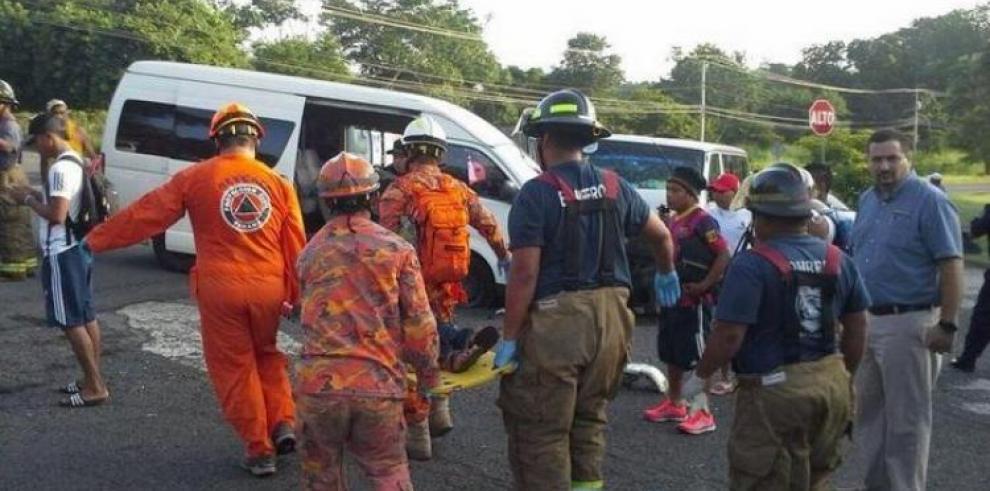 Accidente en Veracruz, hay dos