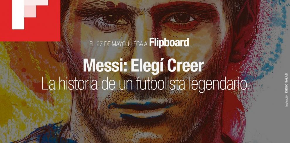 Flipboard debutará como plataforma de lectura de libros con obra de Messi