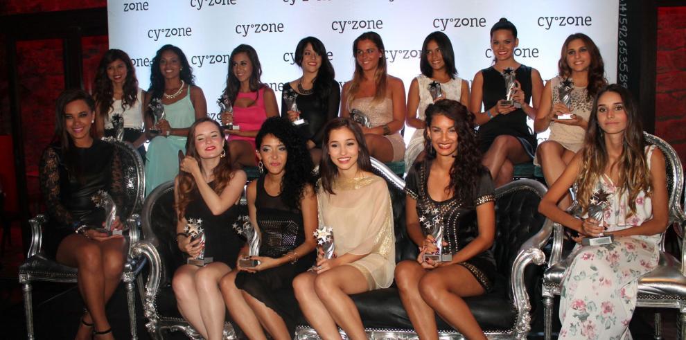 Presentan chicas del Look Cyzone 2014