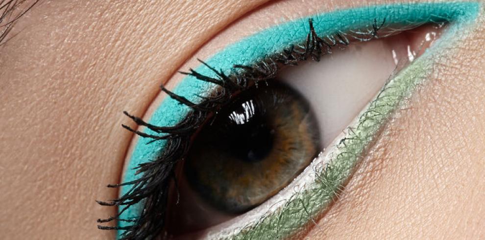 Dele vida a sus ojos con colores vibrantes