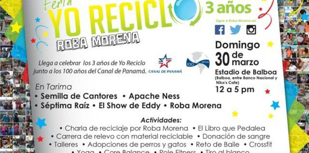 Feria Yo Reciclo celebra su tercer aniversario