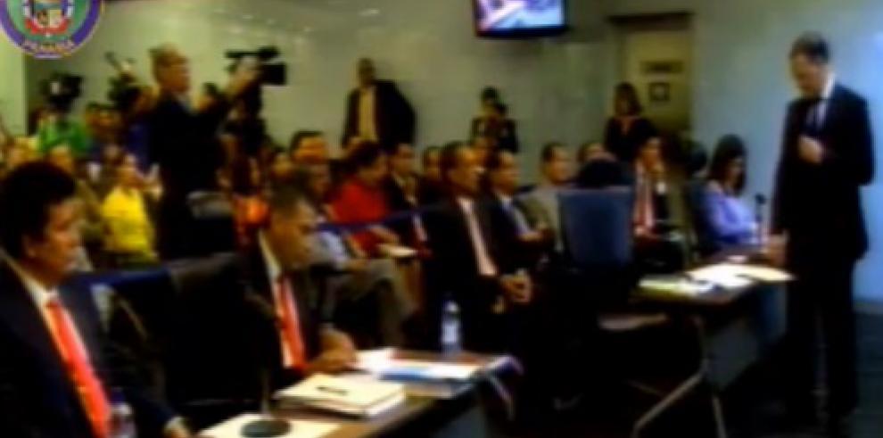 Moncada Luna se presentó para audiencia de imputación de cargos