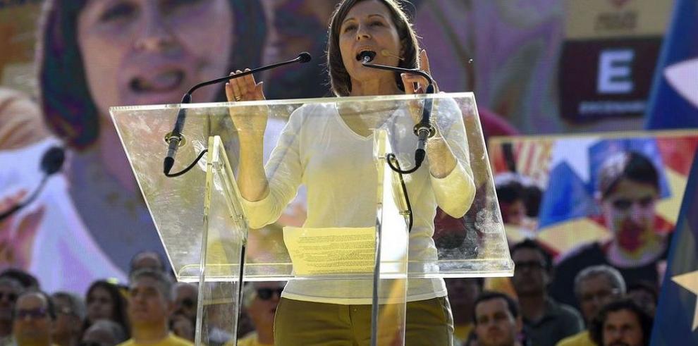 Forcadell pide acelerar elecciones en Cataluña