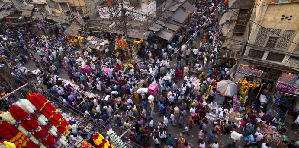 Hindúes se preparan para el Diwali