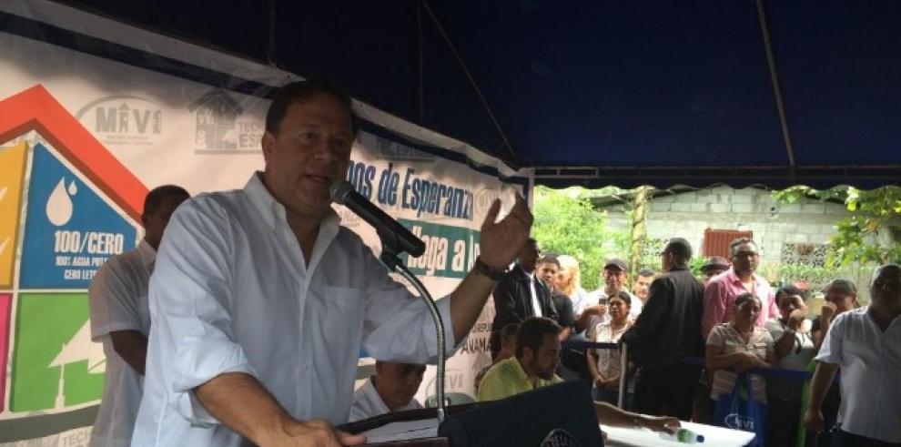 Varela anuncia ensanche de carretera desde el Puente de las Américas-Arraiján