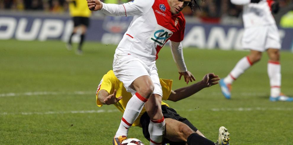 Falcao participa en el entrenamiento del Mónaco