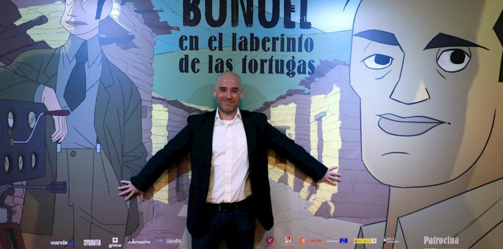 En la imagen un registro del cineasta español Salvador Simó, director de la película animada