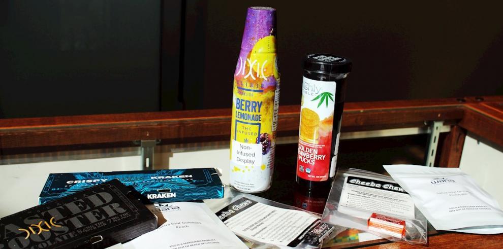 Alimentos con extractos de cannabis