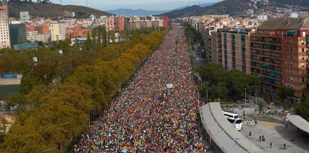 Protestas en Cataluña independentismo 2019